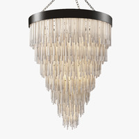 Cravt original - Selenite chandelier