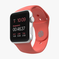 3ds max apple watch sport pink