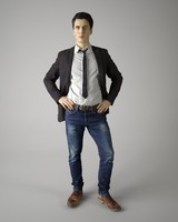 3d obj body scan man fashion