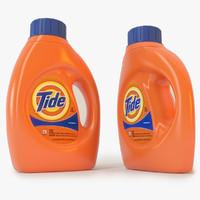 tide detergent 3d c4d