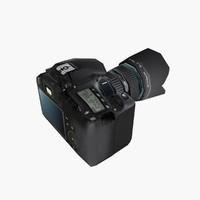 camera canon cam 3d model