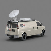 Broadcast TV VAN
