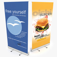 banner stand 3ds