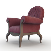 chair armchair modern 3d model