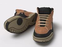 3d model sneakers shoe
