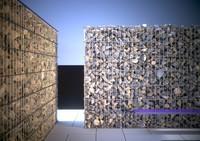 gabion wall stone 3d model