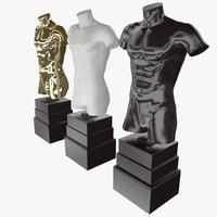 max statue mannequin