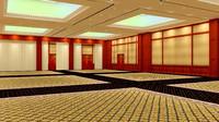 3ds max design balinese ballroom
