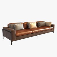 ralph pucci upholstery 3 seat sofa
