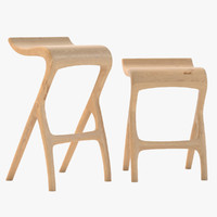 umthi bar stool 3d model