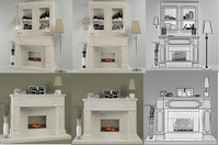 max fireplace decor