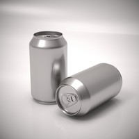 3d model aluminum soda