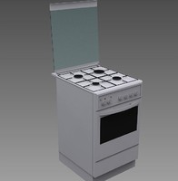 3d combined gas cooker