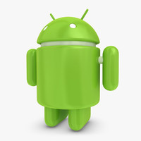 android logo 3d 3ds