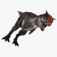 carnotaurus dinosaur 3d model