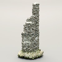 stone rock 3d max