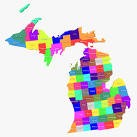 michigan counties 3d 3ds