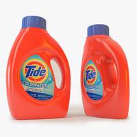 tide detergent c4d