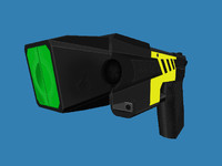 Taser/Stun Gun (Low Poly)