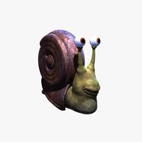 max cartoon snail