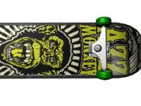 maya skateboard monkey