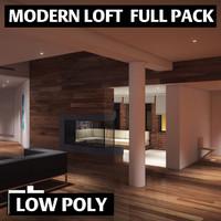 pack loft 3d model