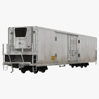Railroad Refrigerator Car Generic