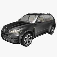 3d model bmw x5