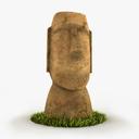 Moai 3D models