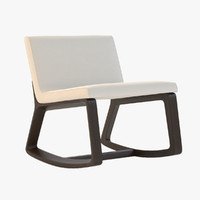 3d model remix rocking chair