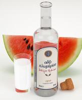 3d ouzo plomari watermelon model
