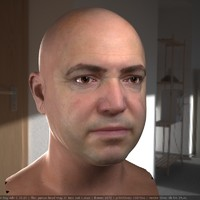 male head 2 man max