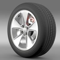 3ds max renault logan2 wheel