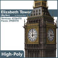 Highly Detailed Big Ben