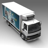 heavytruck cars 3d model