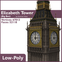 Big Ben Low-Poly