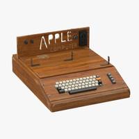 apple computer 3d max