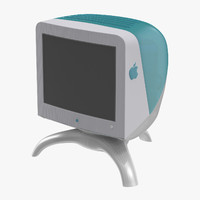 3d apple studio display 17 model
