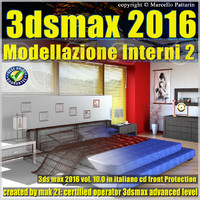 3ds max 2016 Modellazione Interni 2 v.10 cd front