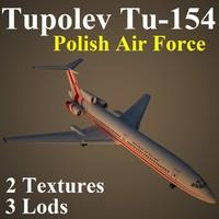 3d tupolev plf model
