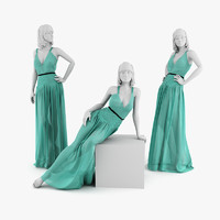 Woman Mannequin Dress Christian Dior