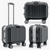 3d model suitcase travel kingtrip small