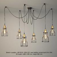 3d lamps lussole loft