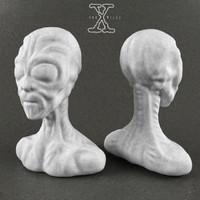 alien bust 3d 3ds