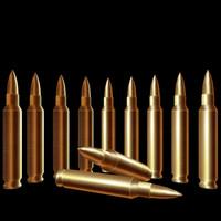 gold bullet 3d model