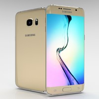 3d samsung galaxy s6 edge model