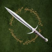 3d bilbo sword hobbit