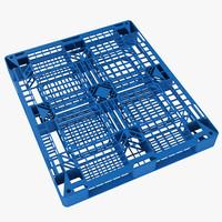 plastic pallet 3d model