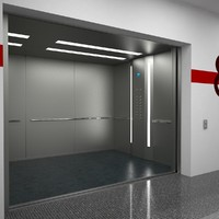 3d elevator otis b7ku601 model