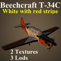 3d beechcraft wre model